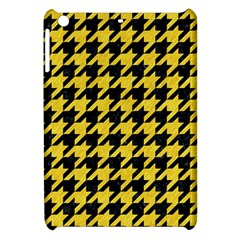 Houndstooth1 Black Marble & Yellow Colored Pencil Apple Ipad Mini Hardshell Case