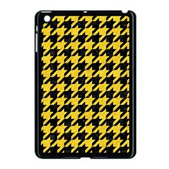 Houndstooth1 Black Marble & Yellow Colored Pencil Apple Ipad Mini Case (black)
