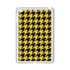 Houndstooth1 Black Marble & Yellow Colored Pencil Ipad Mini 2 Enamel Coated Cases
