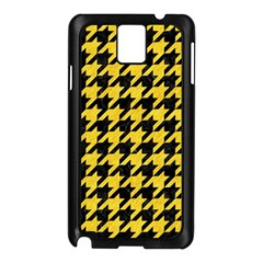 Houndstooth1 Black Marble & Yellow Colored Pencil Samsung Galaxy Note 3 N9005 Case (black)