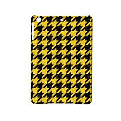 Houndstooth1 Black Marble & Yellow Colored Pencil Ipad Mini 2 Hardshell Cases