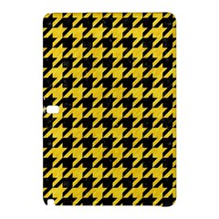 Houndstooth1 Black Marble & Yellow Colored Pencil Samsung Galaxy Tab Pro 12 2 Hardshell Case