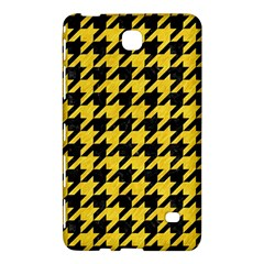 Houndstooth1 Black Marble & Yellow Colored Pencil Samsung Galaxy Tab 4 (7 ) Hardshell Case