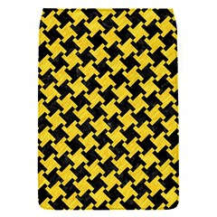 Houndstooth2 Black Marble & Yellow Colored Pencil Flap Covers (s)