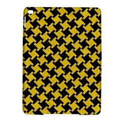 Houndstooth2 Black Marble & Yellow Colored Pencil Ipad Air 2 Hardshell Cases