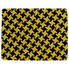 Houndstooth2 Black Marble & Yellow Colored Pencil Jigsaw Puzzle Photo Stand (rectangular)