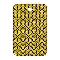 Hexagon1 Black Marble & Yellow Colored Pencil Samsung Galaxy Note 8 0 N5100 Hardshell Case