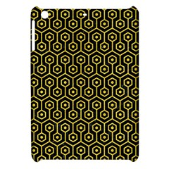 Hexagon1 Black Marble & Yellow Colored Pencil (r) Apple Ipad Mini Hardshell Case