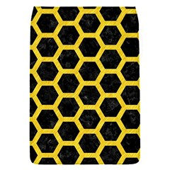 Hexagon2 Black Marble & Yellow Colored Pencil (r) Flap Covers (s)