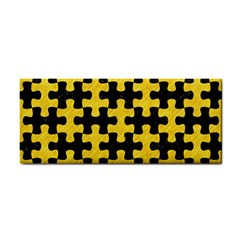 Puzzle1 Black Marble & Yellow Colored Pencil Cosmetic Storage Cases
