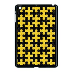 Puzzle1 Black Marble & Yellow Colored Pencil Apple Ipad Mini Case (black)