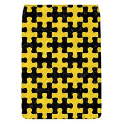 Puzzle1 Black Marble & Yellow Colored Pencil Flap Covers (s)