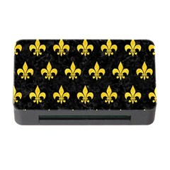 Royal1 Black Marble & Yellow Colored Pencil Memory Card Reader With Cf
