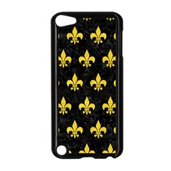 Royal1 Black Marble & Yellow Colored Pencil Apple Ipod Touch 5 Case (black)
