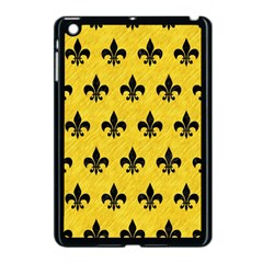 Royal1 Black Marble & Yellow Colored Pencil (r) Apple Ipad Mini Case (black)