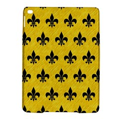 Royal1 Black Marble & Yellow Colored Pencil (r) Ipad Air 2 Hardshell Cases