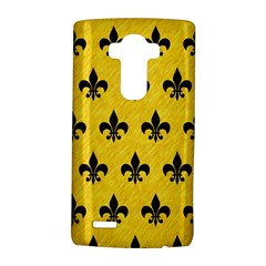 Royal1 Black Marble & Yellow Colored Pencil (r) Lg G4 Hardshell Case