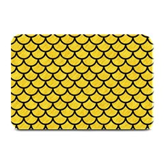Scales1 Black Marble & Yellow Colored Pencil Plate Mats