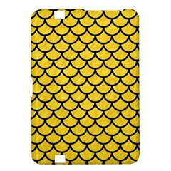 Scales1 Black Marble & Yellow Colored Pencil Kindle Fire Hd 8 9