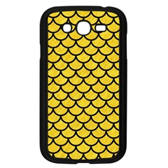 Scales1 Black Marble & Yellow Colored Pencil Samsung Galaxy Grand Duos I9082 Case (black)