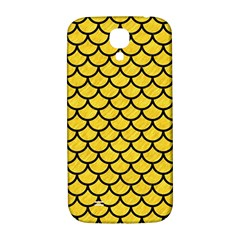 Scales1 Black Marble & Yellow Colored Pencil Samsung Galaxy S4 I9500/i9505  Hardshell Back Case