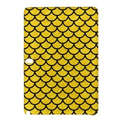 Scales1 Black Marble & Yellow Colored Pencil Samsung Galaxy Tab Pro 10 1 Hardshell Case