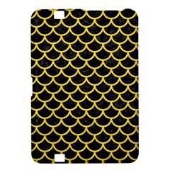 Scales1 Black Marble & Yellow Colored Pencil (r) Kindle Fire Hd 8 9
