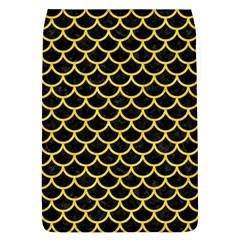 Scales1 Black Marble & Yellow Colored Pencil (r) Flap Covers (l)