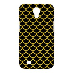 Scales1 Black Marble & Yellow Colored Pencil (r) Samsung Galaxy Mega 6 3  I9200 Hardshell Case