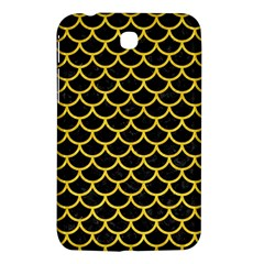 Scales1 Black Marble & Yellow Colored Pencil (r) Samsung Galaxy Tab 3 (7 ) P3200 Hardshell Case
