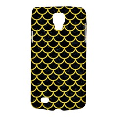 Scales1 Black Marble & Yellow Colored Pencil (r) Galaxy S4 Active