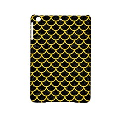Scales1 Black Marble & Yellow Colored Pencil (r) Ipad Mini 2 Hardshell Cases