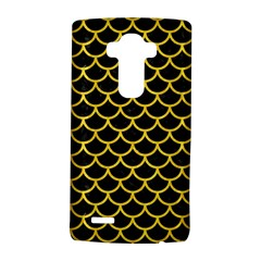 Scales1 Black Marble & Yellow Colored Pencil (r) Lg G4 Hardshell Case