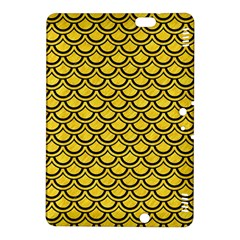 Scales2 Black Marble & Yellow Colored Pencil Kindle Fire Hdx 8 9  Hardshell Case