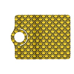 Scales2 Black Marble & Yellow Colored Pencil Kindle Fire Hd (2013) Flip 360 Case