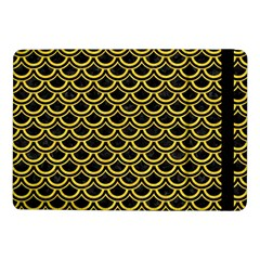 Scales2 Black Marble & Yellow Colored Pencil (r) Samsung Galaxy Tab Pro 10 1  Flip Case