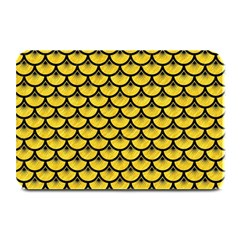 Scales3 Black Marble & Yellow Colored Pencil Plate Mats