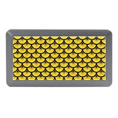 Scales3 Black Marble & Yellow Colored Pencil Memory Card Reader (mini)