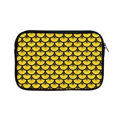 Scales3 Black Marble & Yellow Colored Pencil Apple Ipad Mini Zipper Cases