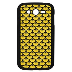 Scales3 Black Marble & Yellow Colored Pencil Samsung Galaxy Grand Duos I9082 Case (black)