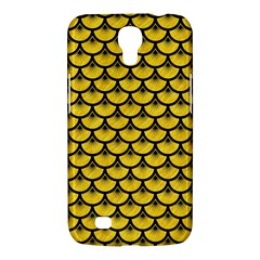 Scales3 Black Marble & Yellow Colored Pencil Samsung Galaxy Mega 6 3  I9200 Hardshell Case