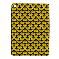 Scales3 Black Marble & Yellow Colored Pencil Ipad Air 2 Hardshell Cases