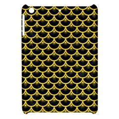 Scales3 Black Marble & Yellow Colored Pencil (r) Apple Ipad Mini Hardshell Case