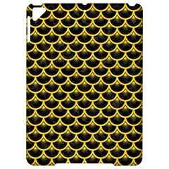 Scales3 Black Marble & Yellow Colored Pencil (r) Apple Ipad Pro 9 7   Hardshell Case