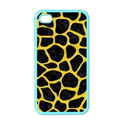 Skin1 Black Marble & Yellow Colored Pencil Apple Iphone 4 Case (color)