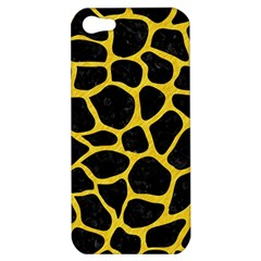 Skin1 Black Marble & Yellow Colored Pencil Apple Iphone 5 Hardshell Case