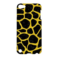 Skin1 Black Marble & Yellow Colored Pencil Apple Ipod Touch 5 Hardshell Case
