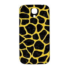 Skin1 Black Marble & Yellow Colored Pencil Samsung Galaxy S4 I9500/i9505  Hardshell Back Case