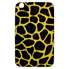 Skin1 Black Marble & Yellow Colored Pencil Samsung Galaxy Tab 3 (8 ) T3100 Hardshell Case