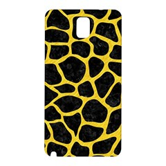 Skin1 Black Marble & Yellow Colored Pencil Samsung Galaxy Note 3 N9005 Hardshell Back Case